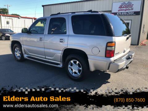 2005 GMC Yukon for sale at Elders Auto Sales in Pine Bluff AR