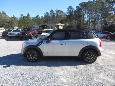 2012 MINI Cooper Countryman for sale at Ward's Motorsports in Pensacola FL