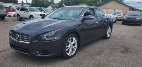 2012 Nissan Maxima for sale at AUTO NETWORK LLC in Petersburg VA