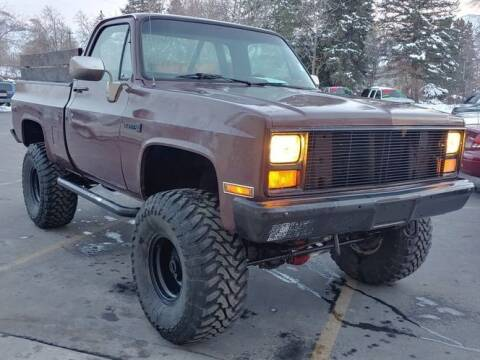 1987 GMC C/K 1500 Series for sale at Classic Car Deals in Cadillac MI