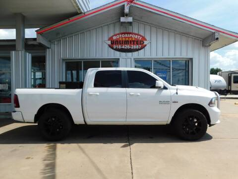 2016 RAM Ram Pickup 1500 for sale at Motorsports Unlimited in McAlester OK