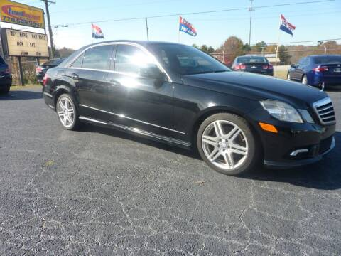 2011 Mercedes-Benz E-Class for sale at Roswell Auto Imports in Austell GA