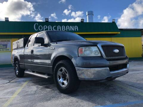 2006 Ford F-150 for sale at Trans Copacabana Auto Sales in Hollywood FL