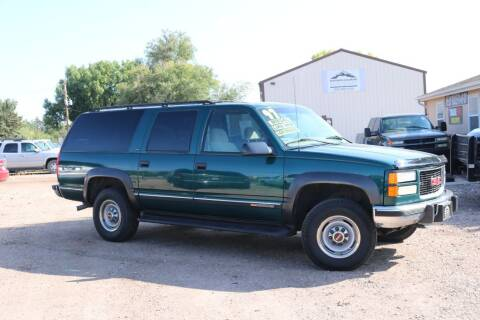 1997 GMC Suburban for sale at Northern Colorado auto sales Inc in Fort Collins CO