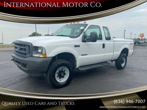 2003 Ford F-350 Super Duty for sale at International Motor Co. in St. Charles MO