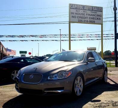 2011 Jaguar XF for sale at CAPITOL AUTO SALES LLC in Baton Rouge LA