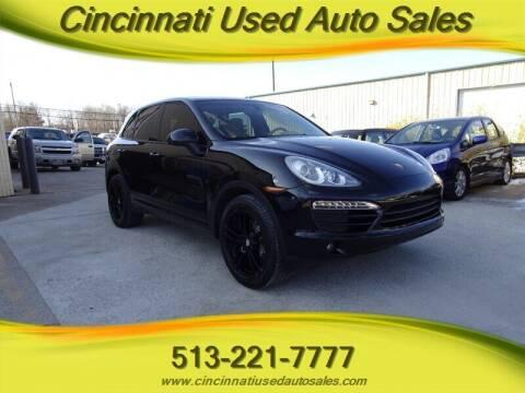 2011 Porsche Cayenne for sale at Cincinnati Used Auto Sales in Cincinnati OH