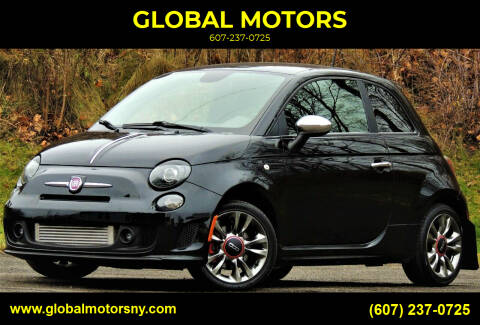 2015 FIAT 500 for sale at GLOBAL MOTORS in Binghamton NY