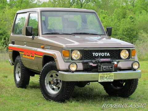 1987 Toyota Land Cruiser LJ70 for sale at Isuzu Classic in Cream Ridge NJ