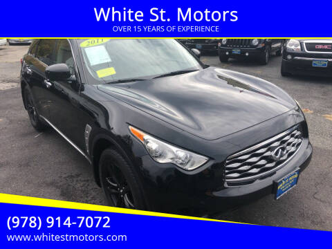 2011 Infiniti FX35 for sale at White St. Motors in Haverhill MA