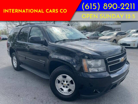 2010 Chevrolet Tahoe for sale at International Cars Co in Murfreesboro TN