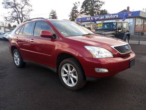 2009 Lexus RX 350 for sale at All American Motors in Tacoma WA