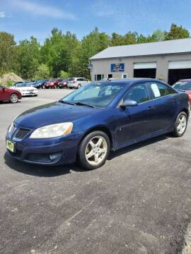 2009 Pontiac G6 for sale at Jeff's Sales & Service in Presque Isle ME