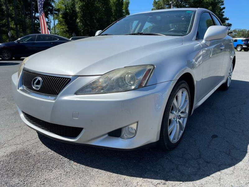 2008 Lexus IS 250 for sale at Airbase Auto Sales in Cabot AR
