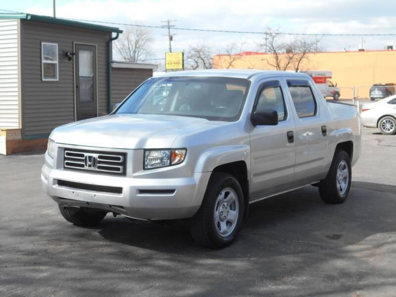 2007 Honda Ridgeline for sale at MT MORRIS AUTO SALES INC in Mount Morris MI