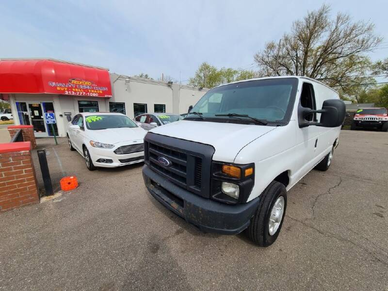 2014 Ford E-Series Cargo for sale at Redford Auto Quality Used Cars in Redford MI