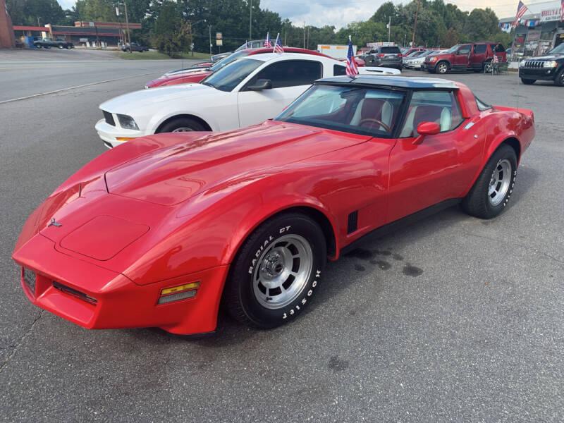 1981 Chevrolet Corvette for sale at Wheel'n & Deal'n in Lenoir NC