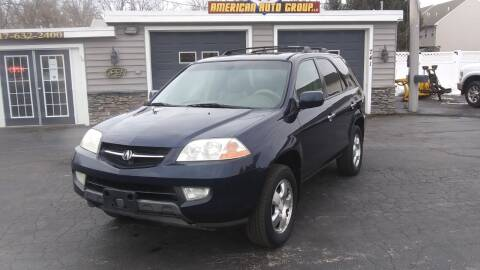 2003 Acura MDX for sale at American Auto Group, LLC in Hanover PA