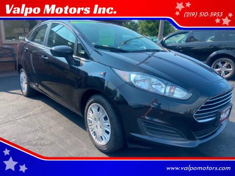 2014 Ford Fiesta for sale at Valpo Motors in Valparaiso IN