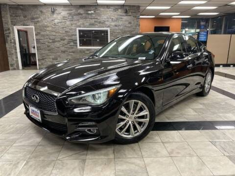 2015 Infiniti Q50 for sale at Sonias Auto Sales in Worcester MA