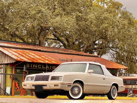 1982 Chrysler Le Baron for sale at OVE Car Trader Corp in Tampa FL