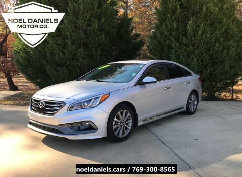 2017 Hyundai Sonata for sale at Noel Daniels Motor Company in Brandon MS