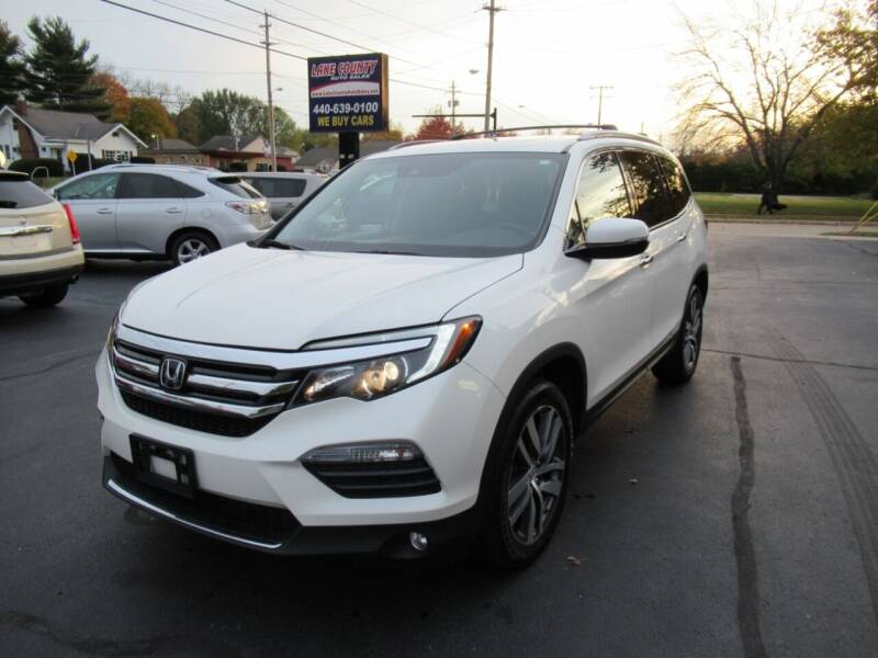 2017 Honda Pilot for sale at Lake County Auto Sales in Painesville OH