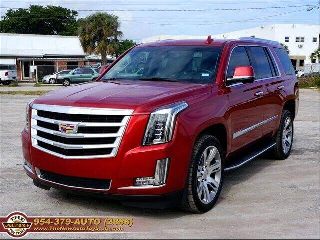 2015 Cadillac Escalade for sale at The New Auto Toy Store in Fort Lauderdale FL
