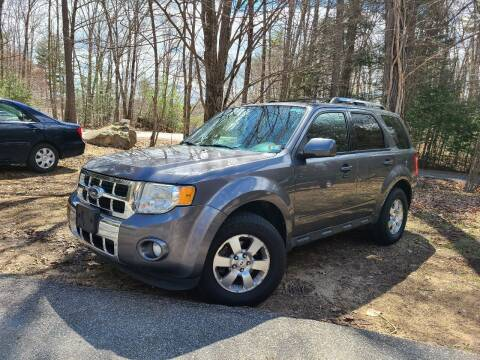 2012 Ford Escape for sale at JR AUTO SALES in Candia NH
