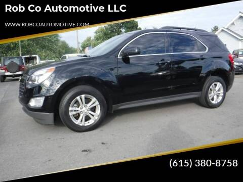 2016 Chevrolet Equinox for sale at Rob Co Automotive LLC in Springfield TN