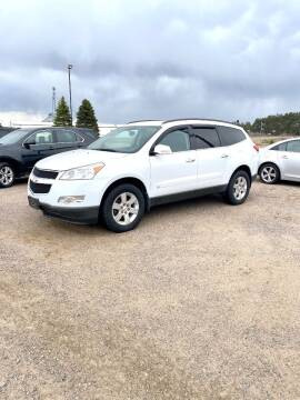 2010 Chevrolet Traverse for sale at Rice Auto Sales in Rice MN