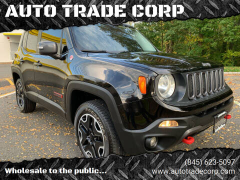 2015 Jeep Renegade for sale at AUTO TRADE CORP in Nanuet NY