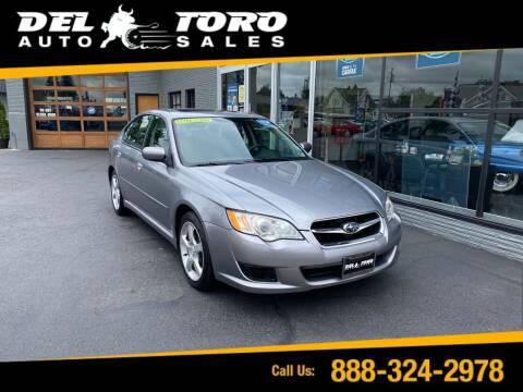 2009 Subaru Legacy for sale at DEL TORO AUTO SALES in Auburn WA