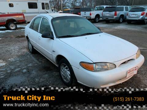 1998 Ford Escort for sale at Truck City Inc in Des Moines IA