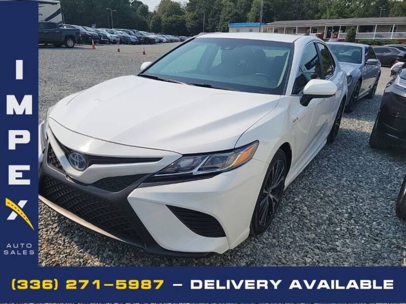 2018 Toyota Camry Hybrid for sale at Impex Auto Sales in Greensboro NC