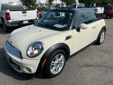 2011 MINI Cooper for sale at AFFORDABLE AUTO & TRUCK INC in Virginia Beach VA