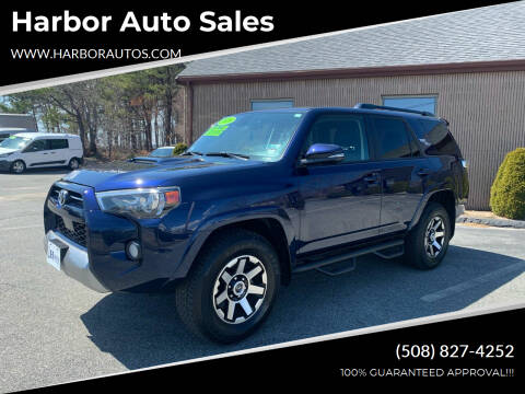 2020 Toyota 4Runner for sale at Harbor Auto Sales in Hyannis MA