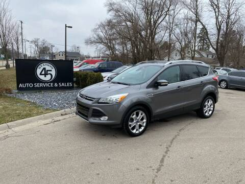 2014 Ford Escape for sale at Station 45 Auto Sales Inc in Allendale MI