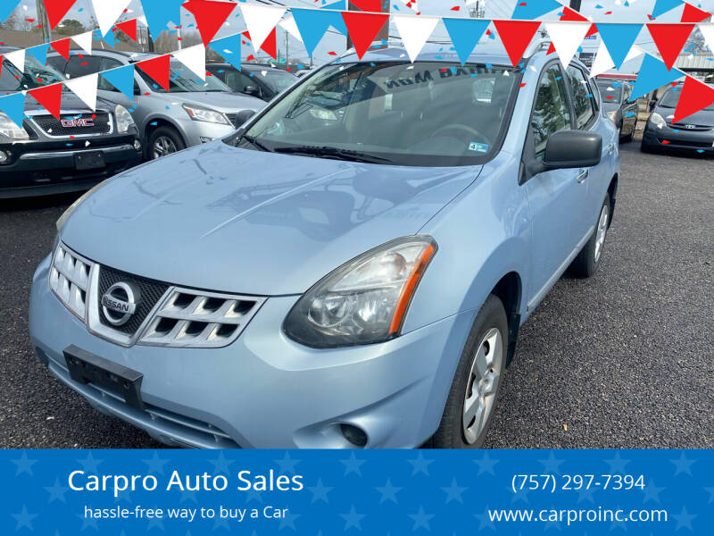 2014 Nissan Rogue Select for sale at Carpro Auto Sales in Chesapeake VA