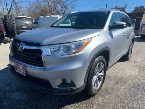 2014 Toyota Highlander for sale at Fuentes Brothers Auto Sales in Jessup MD