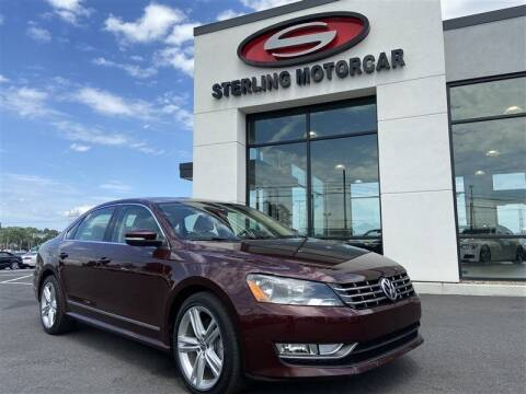 2013 Volkswagen Passat for sale at Sterling Motorcar in Ephrata PA