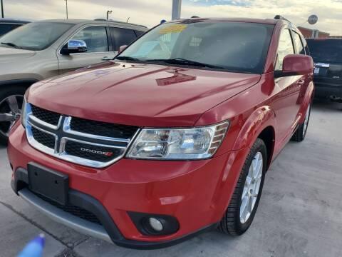 2015 Dodge Journey for sale at Hugo Motors INC in El Paso TX