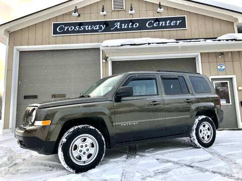 2016 Jeep Patriot for sale at CROSSWAY AUTO CENTER in East Barre VT