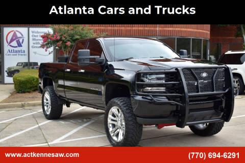 2018 Chevrolet Silverado 1500 for sale at Atlanta Cars and Trucks in Kennesaw GA