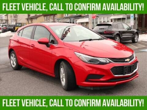 2018 Chevrolet Cruze for sale at Bob Weaver Auto in Pottsville PA