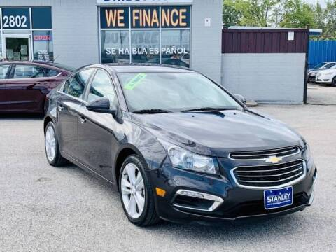 2016 Chevrolet Cruze Limited for sale at Stanley Automotive Finance Enterprise - STANLEY DIRECT AUTO in Mesquite TX