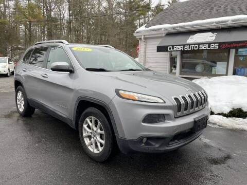 2015 Jeep Cherokee for sale at Clear Auto Sales 2 in Dartmouth MA
