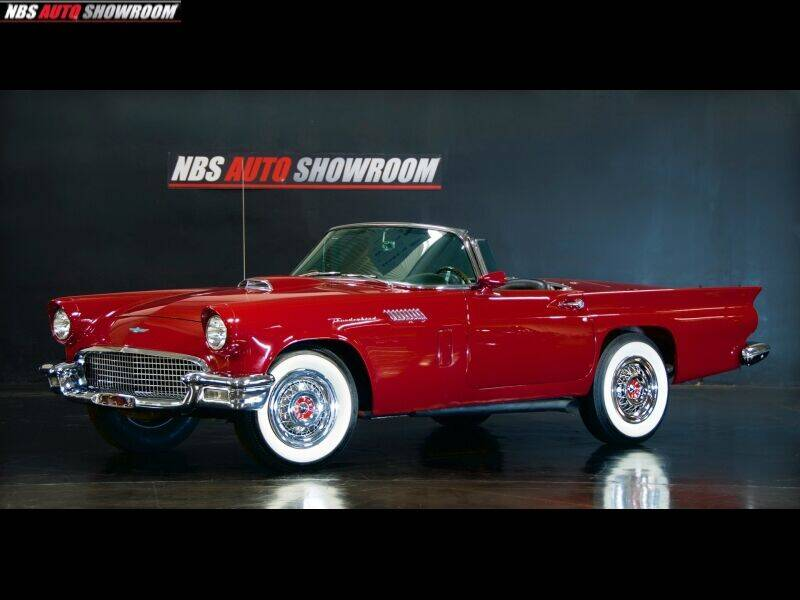 1957 Ford Thunderbird for sale at NBS Auto Showroom in Milpitas CA