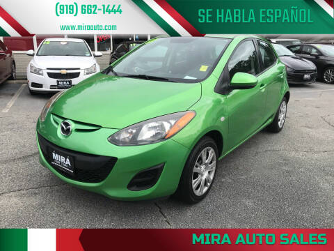 2011 Mazda MAZDA2 for sale at Mira Auto Sales in Raleigh NC