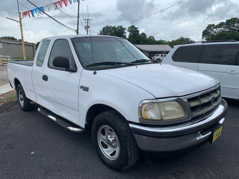 1997 Ford F-150 for sale at Rock Motors LLC in Victoria TX